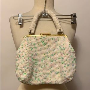 None Bags - Vintage Multi-Color Beaded Purse
